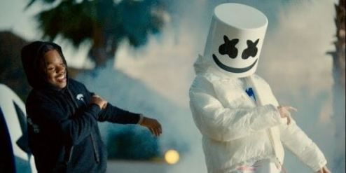 Baggin Lyrics - Marshmello & 42 Dugg