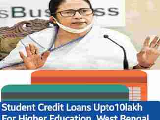 student credit card west bengal government