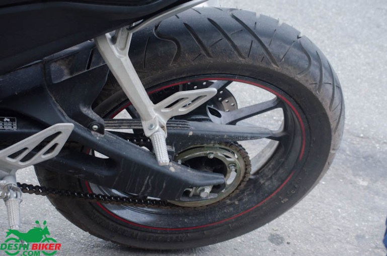 R15 V3 Rear Tyre