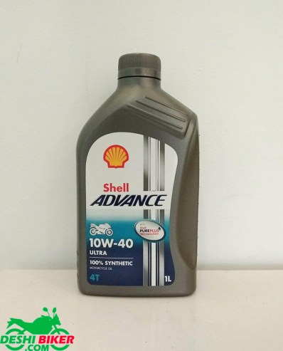 Shell Advance Ultra 4T 20W40
