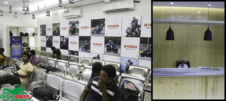 Yamaha 3s Center Waiting Room and Cafe