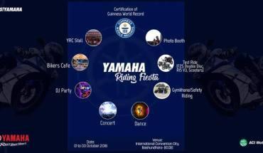 Yamaha Riding Fiesta 2018