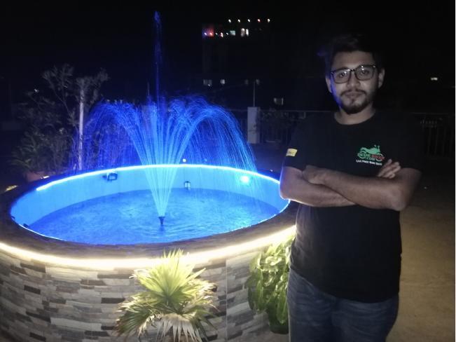 Deshi Biker at Hotel Jalico