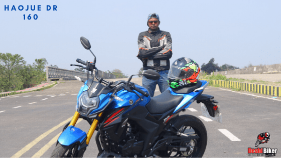 Haojue DR 160 first ride review