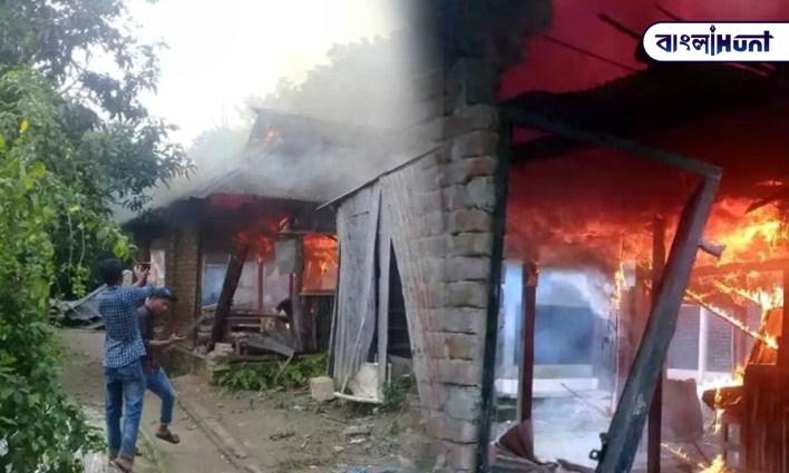 Bangladesh: Houses of Hindus were set on fire due to rumors