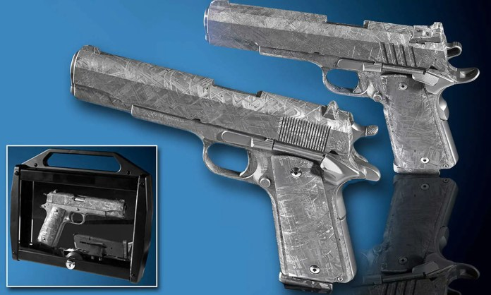 pistol made of meteorite