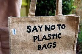 no to plastic