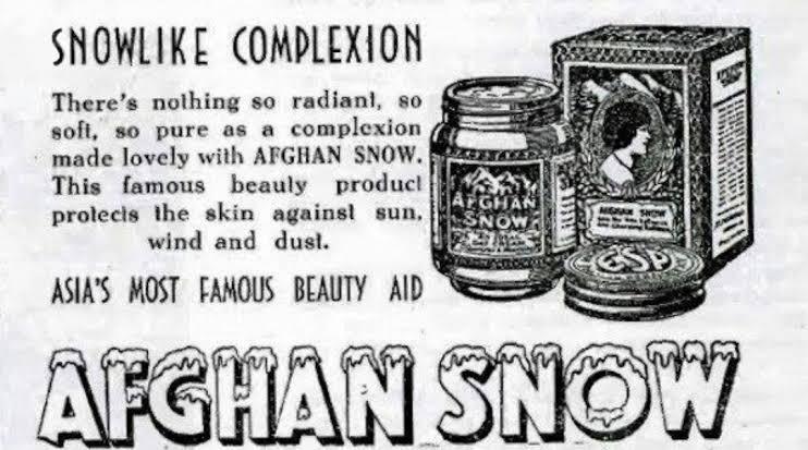 Afghan snow
