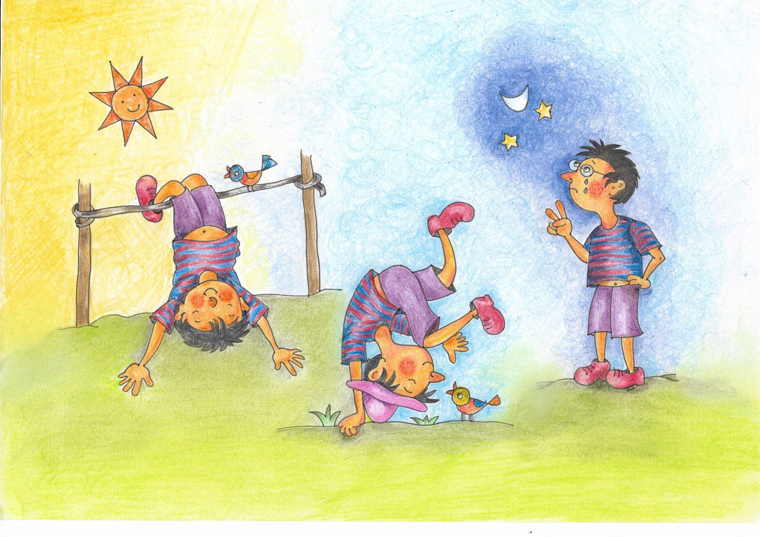 গুপ্তিপাড়ার গুপি Paramita Dasgupta illustration