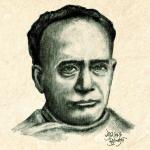 Vidyasagar portrait by Syamantak Chattopadhyay