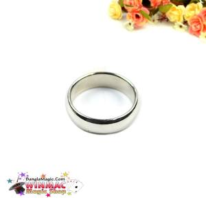 Silver Cambered PK Ring (20MM)