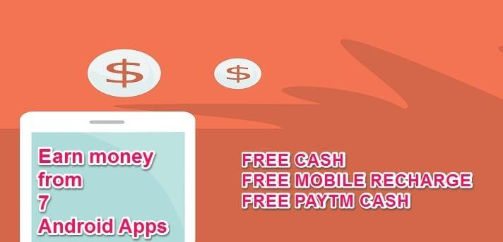 এখন Android apps দিয়ে টাকা আয় করুন : (৭ টি অনলাইন earning app)