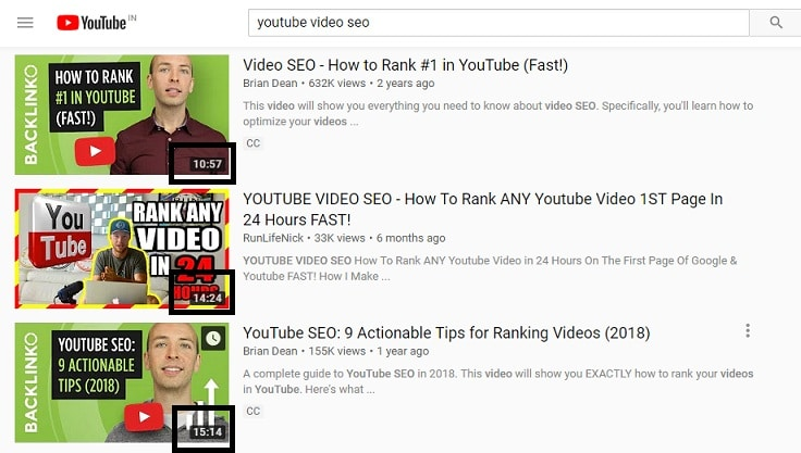 YouTube seo optimization