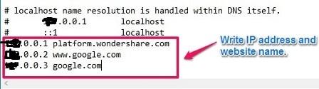 Block website in computer