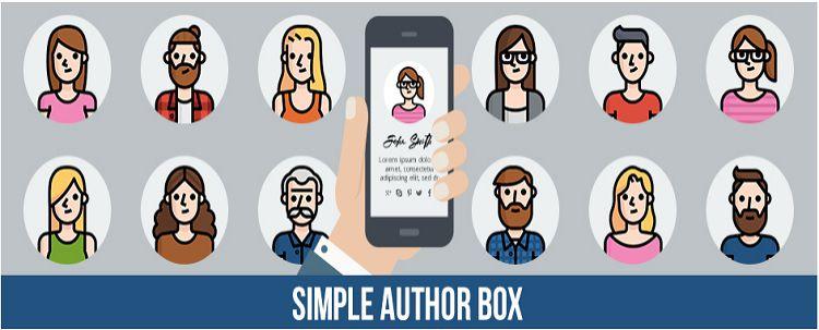 Author box plugin