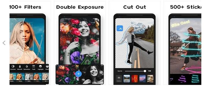 Image designing apps for android