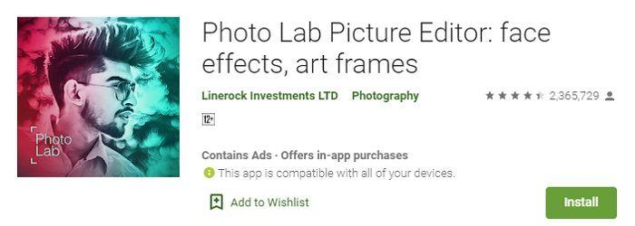 Photo lab free download