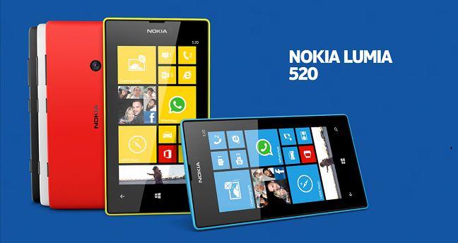 lumia 520 ...;;