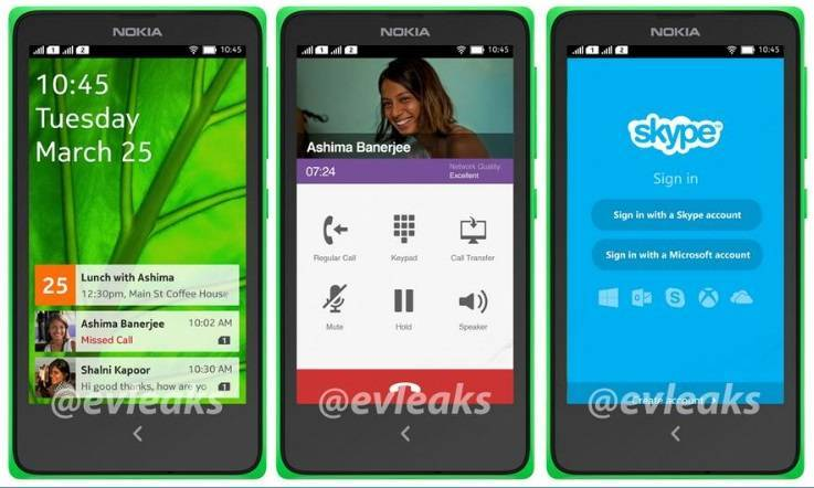 android on nokia.   ....