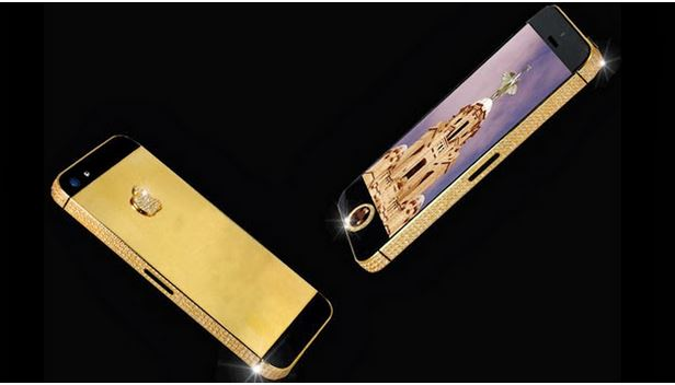 The Stuart Hughes Black Diamond iPhone 5 ($10 million) অবাক করার মত দামী কিছু ইলেকট্রনিক পণ্য