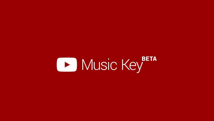 music key youtube