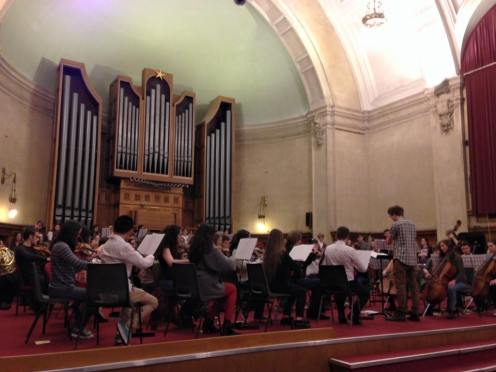 MuSoc Orchestra 2015, conducted by Callum Wilson