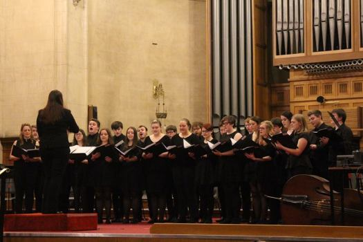 MuSoc Choir 2016, conducted by Phoebe Wright