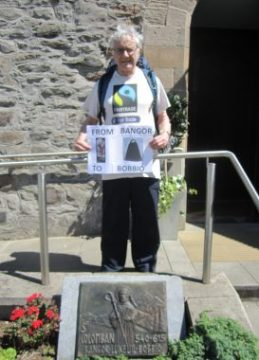 Bangor Abbey, Saint Columbanus Trail Bangor Northern Ireland to Bobbio