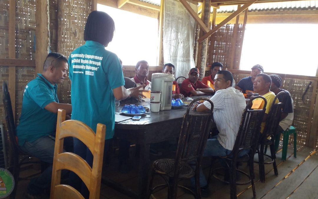 Community Dialogues in 15 Barangays of Buluan and Mangudadatu Municipalities