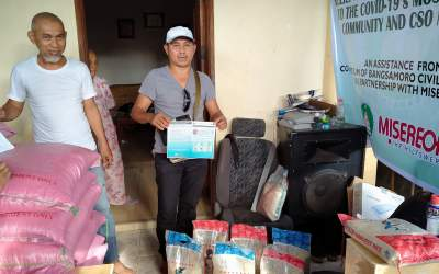 VULNERABLE CSO MEMBERS AND SELECTED HOUSEHOLD OF SULU RECEIVED ASSISTANCE
