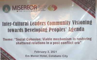 SOCIAL COHENSION A TOOL FOR RESTORING SHATERRED RELATIONS