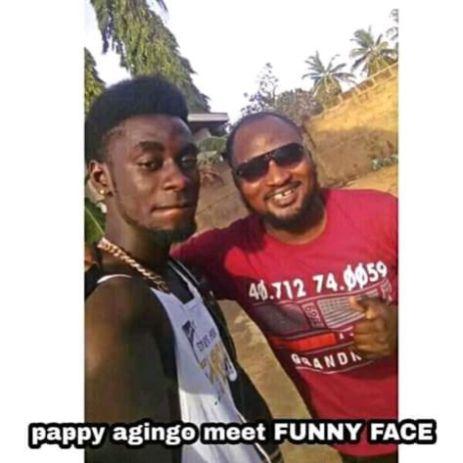 Pappy Agingo Meets Funny Face