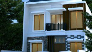 Desain Rumah Minimalis 2 Lantai Di Lahan 7 5 M X 23 M2 Desain Rumah Online