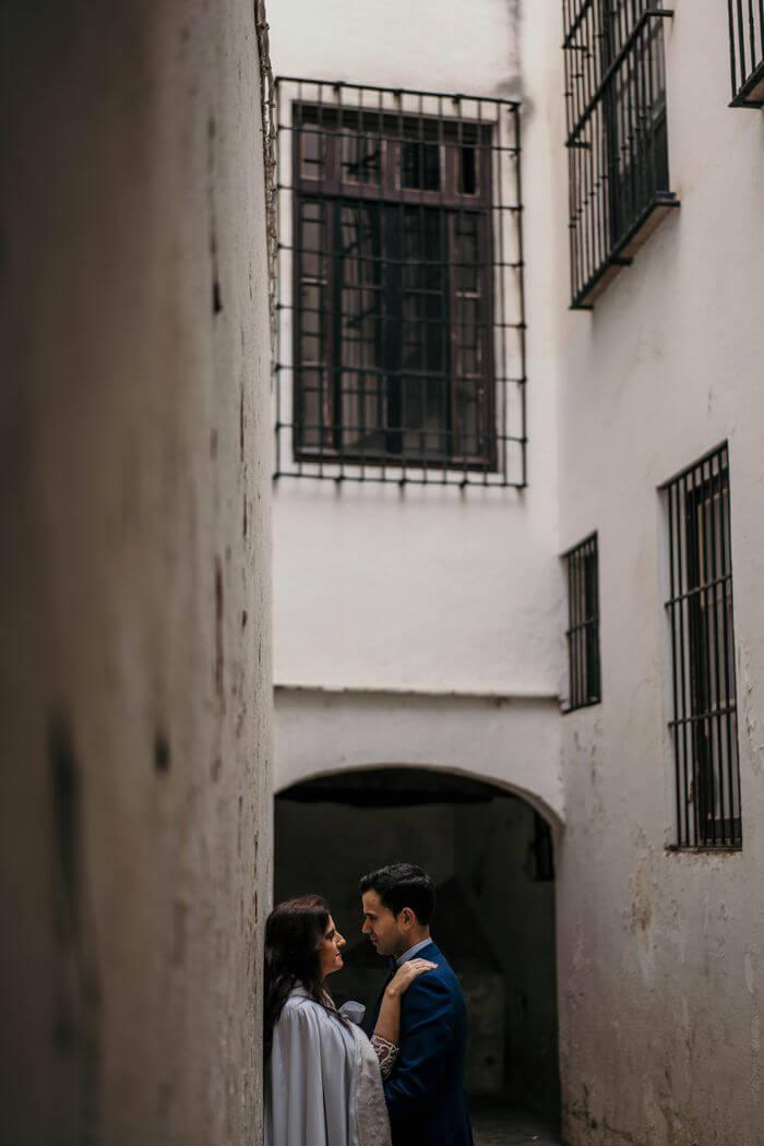 Postboda en Sevilla
