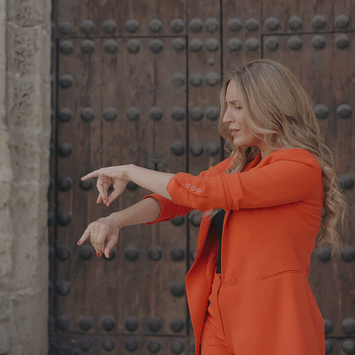 maria toledo sobran motivos videoclip 2020