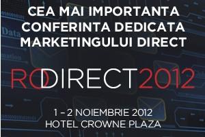 Specialisti internationali in marketing direct vin la Bucuresti la RoDirect 2012