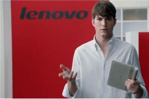 Ashton Kutcher, de la actor, la inginer de produs la Lenovo