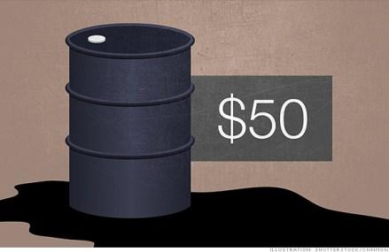 Pretul petrolului scade sub 50 de dolari in Statele Unite
