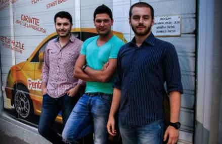 Trei tineri romani vor sa faca un business de 1 milion de euro din service-uri auto