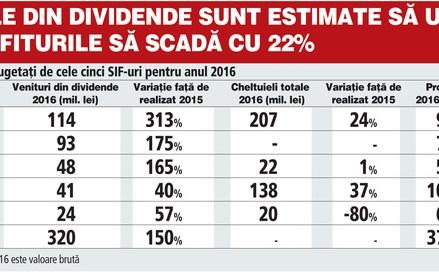 Revenirea băncilor va umple conturile SIF-urilor cu dividende record de 320 mil. lei în acest an