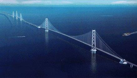 Indonezienii vin cu un proiect grandios pentru salvarea comerţului. În 2020 încep construirea unui pod maritim lung de şapte kilometri