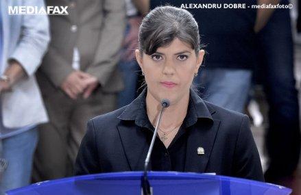 ULTIMĂ ORĂ: Laura Codruţa Kovesi, desemnată procuror-şef european