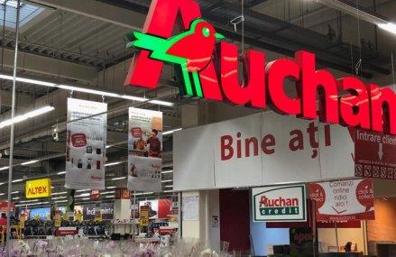 """Retailerul Auchan merge spre afaceri de 6 mld. lei după o creştere """"sănătoasă, solidă şi sustenabilă"""" de sub 10%"""