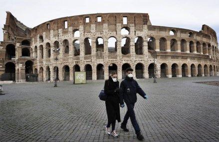 Înapoi în 2000: Infectată de pandemie, economia Italiei a căzut cu 5,3% în primul trimestru, la un nivel nemaivăzut de 20 de ani