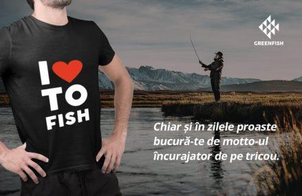 Relansam Greenfish, tricouri personalizate si haine cu atitudine