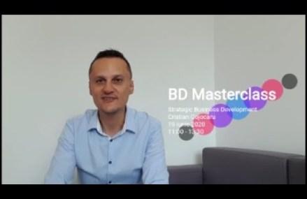 Cristian Cojocaru invitatie la BD Masterclass