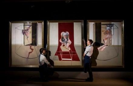 Un triptic de Francis Bacon, vândut pentru 84,6 milioane de dolari la licitații fără public organizate de Sotheby's