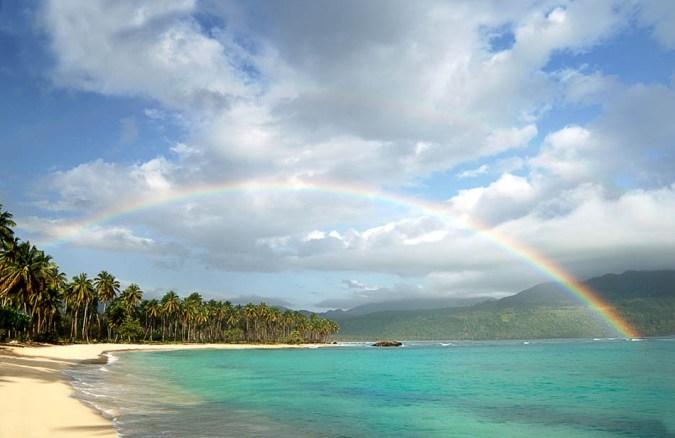 Plaja Rincon din Republica Dominicana