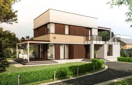 Proiect de case cu etaj pentru confortul intregii familii