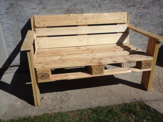 Come Fare Una Panchina Con I Pallet Come Creare Una Comoda Panca